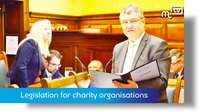 March Tynwald: Legislation for charity organisations
