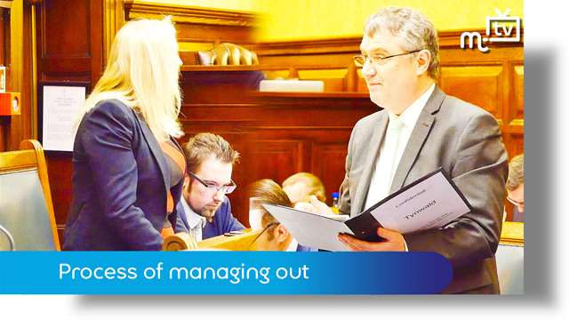 Preview of - March Tynwald: process of managing out