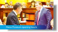 March Tynwald: Manx Museum opening hours