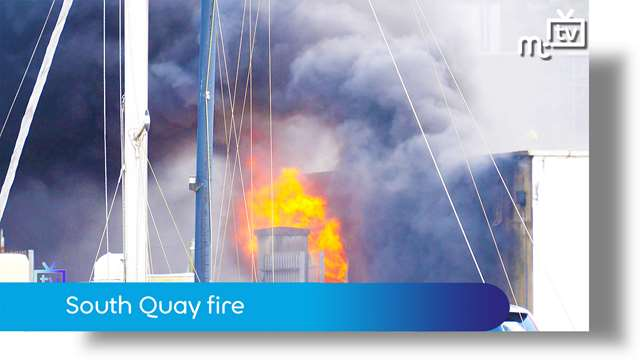 Preview of - South quay fire