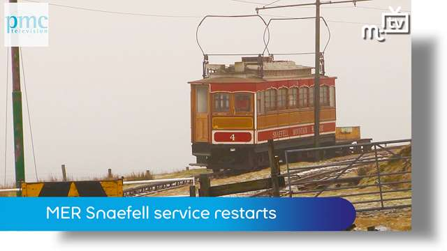 Preview of - MER service restarts to Snaefell