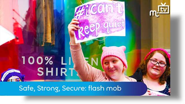 Preview of - Safe, Strong, Secure: flash mob