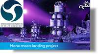Manx moon landing project