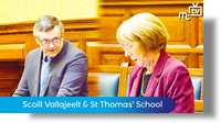 Child impact assessment on Scoill Vallajeelt & St Thomas' School
