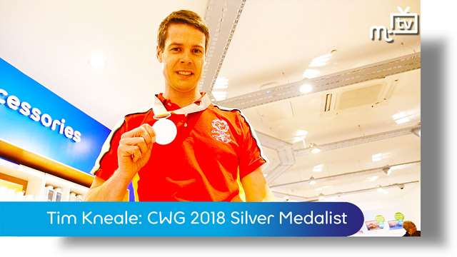 Preview of - Tim Kneale: CWG 2018 Silver Medalist