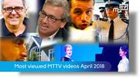 Most watched MTTV videos in April 2018