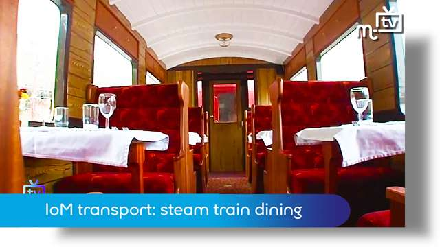 Preview of - IoM transport: steam train dining