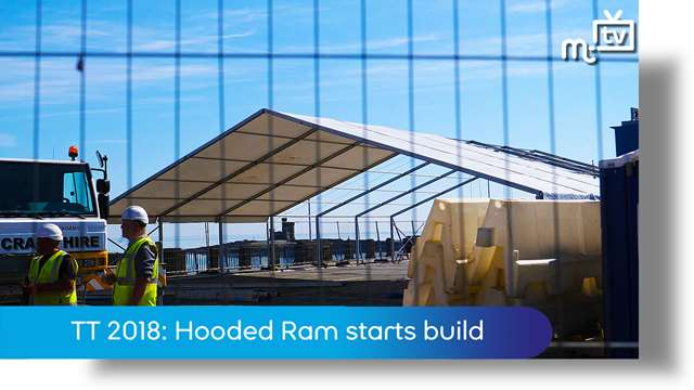 Preview of - TT 2018: Hooded Ram starts build