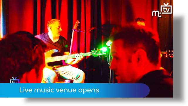 Preview of - Live music venue opens