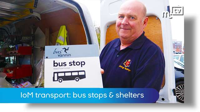 Preview of - IoM transport: bus stops & shelters