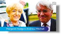 Dame Margaret Hodge and Andrew Mitchell