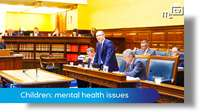 Tynwald June 2018: children suffering with mental health issues