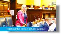 Tynwald June 2018: teaching the correct school syllabus