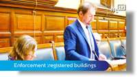 Tynwald June 2018: planning enforcement with registered buildings