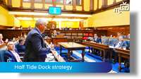 Tynwald June 2018: Half Tide Dock strategy