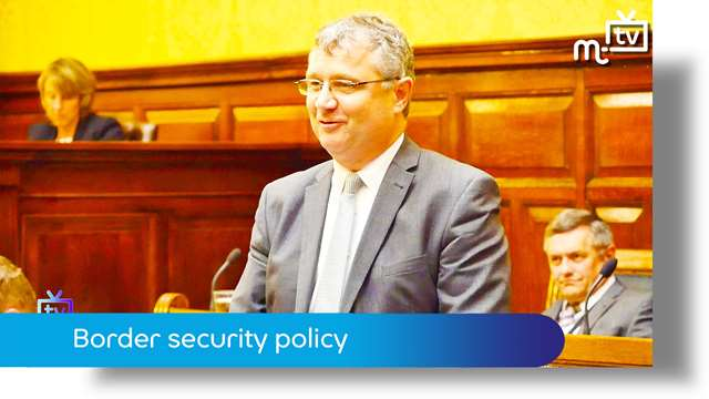 Preview of - Tynwald June 2018: border security policy