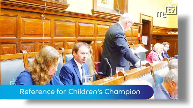 Preview of - Tynwald June 2018: reference for the Children's Champion