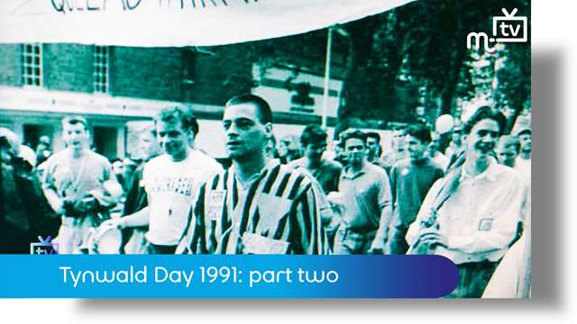 Preview of - Tynwald day 1991: part two