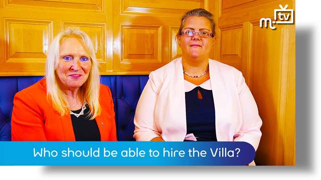 Preview of - Who should be able to hire the Villa?