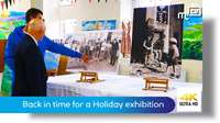 Back in time for a Holiday exhibition