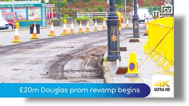Preview of - £20m Douglas prom revamp begins