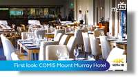 First look at the COMIS Mount Murray Hotel