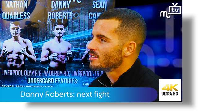 Preview of - Danny Roberts: his next fight