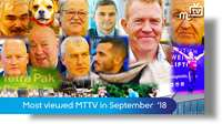 Most viewed MTTV September 2018
