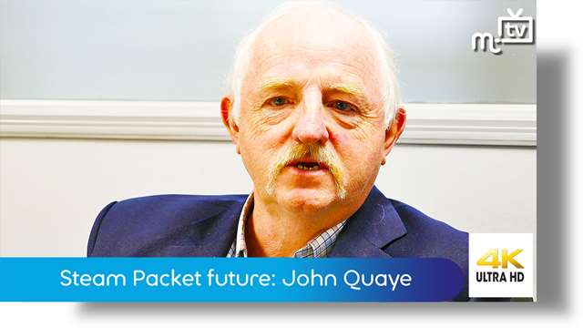 Preview of - Steam Packet future: John Quaye