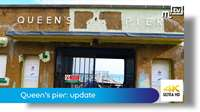Queen's pier Ramsey: update