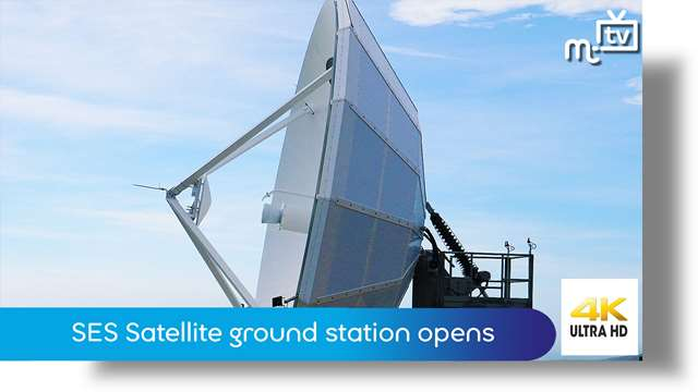Preview of - SES Satellite ground station opens