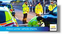 Police winter vehicle checks