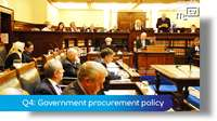 Q4: Government procurement policy