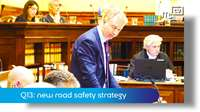 Q13: new road safety strategy
