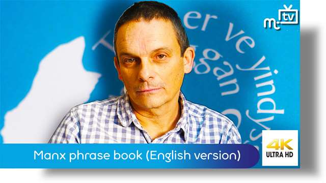 Preview of - New Manx phrase book: English version