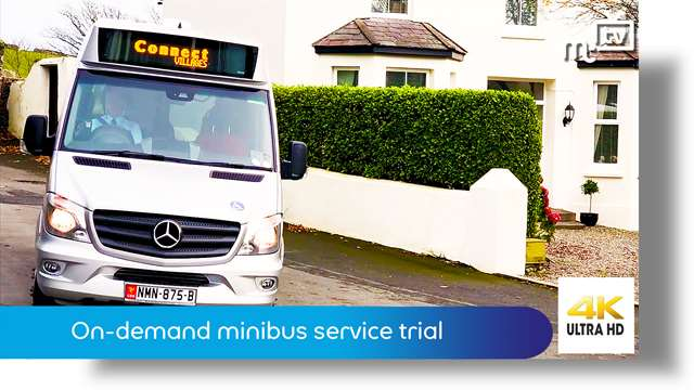 Preview of - On-demand minibus service trial