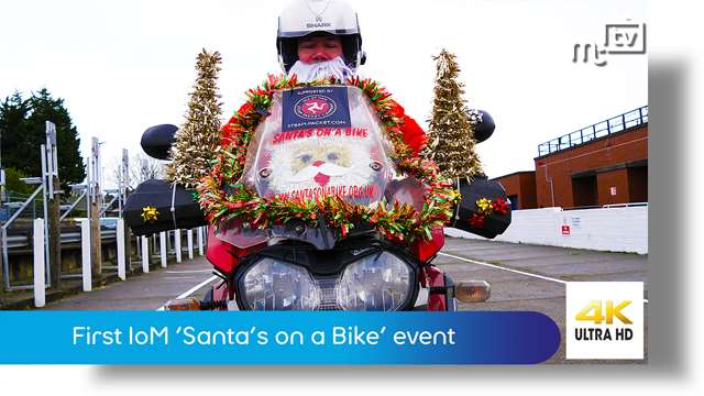 Preview of - First Isle of Man Santas on a Bike event