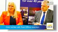 CWU strike call: Post Office reaction