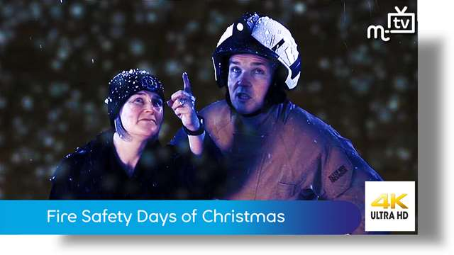 Preview of - Fire Safety Days of Christmas
