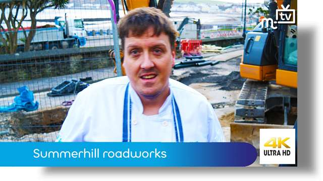 Preview of - Summerhill roadworks