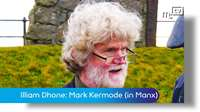 Illiam Dhone commemoration: Mark Kermode (in Manx)