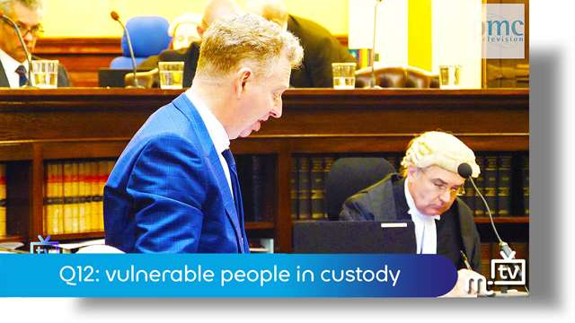 Preview of - Q12: vulnerable people in custody