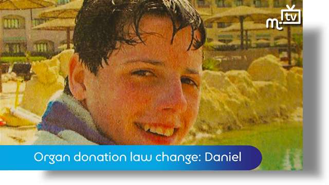 Preview of - Organ donation law change: Daniel's story