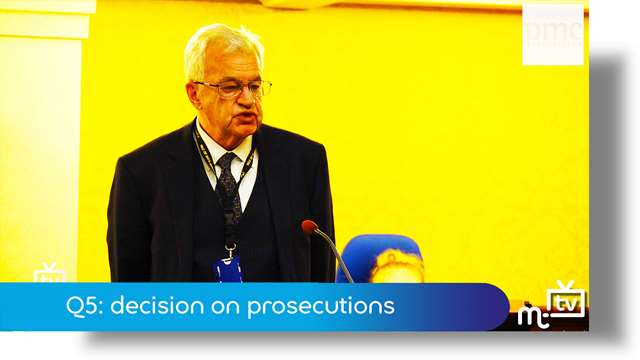 Preview of - Q5: decision on prosecutions