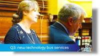 Q3: new technology bus services