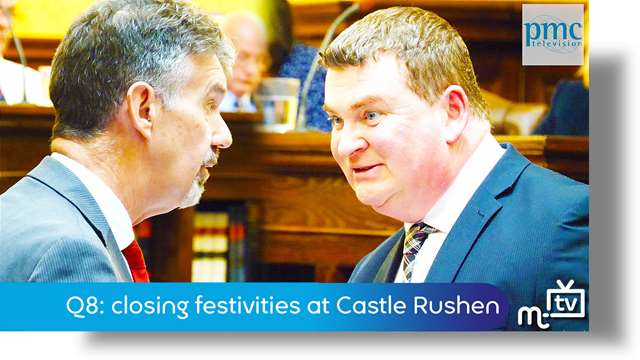 Preview of - Q8: closing festivities at Castle Rushen
