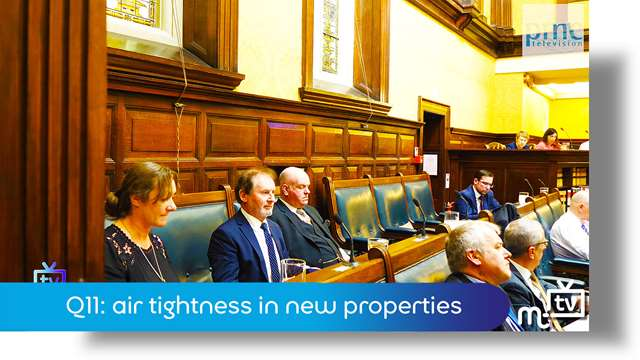 Preview of - Q11: air tightness in new properties