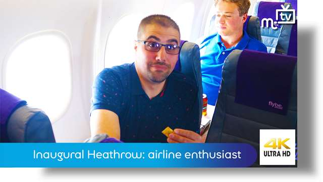 Preview of - Inaugural Heathrow: airline enthusiast