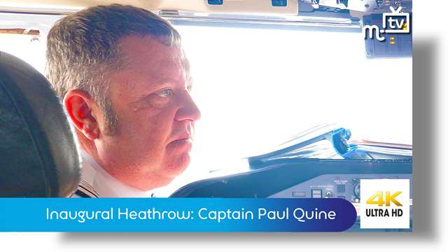 Preview of - Inaugural Heathrow: Captain Paul Quine
