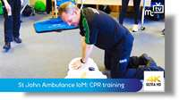 St John Ambulance IoM: CPR training